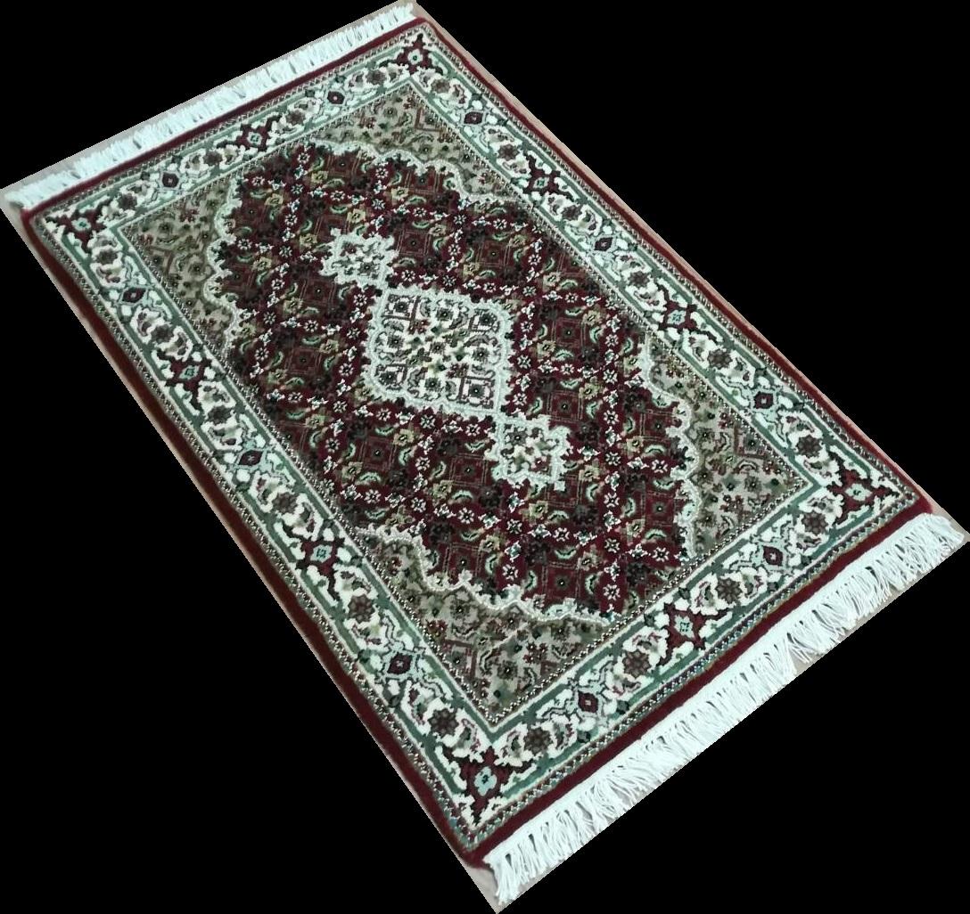 IM0081 インドマヒ 手織り 63×95