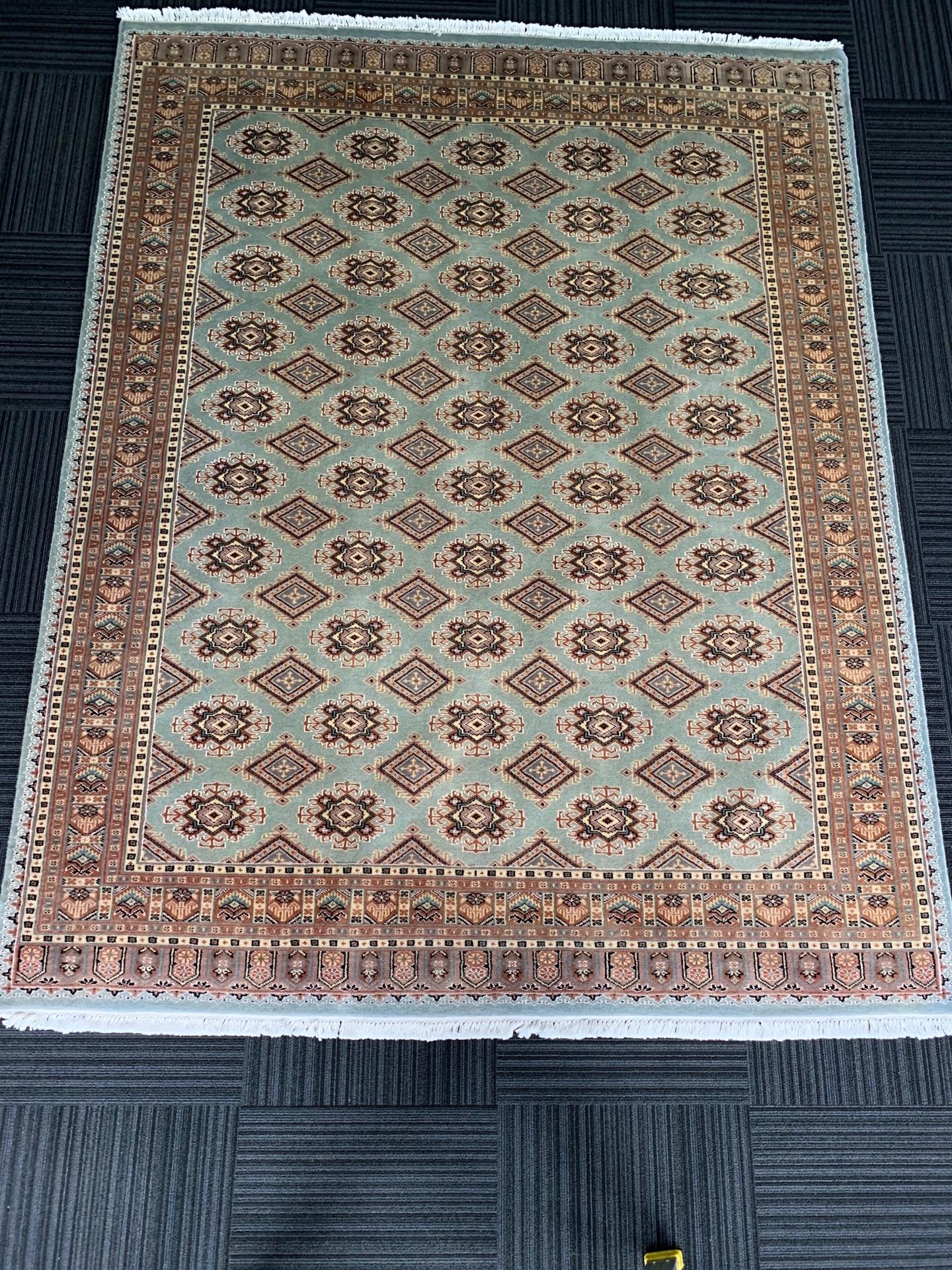 JA8399 パキスタン 手織り 197×252