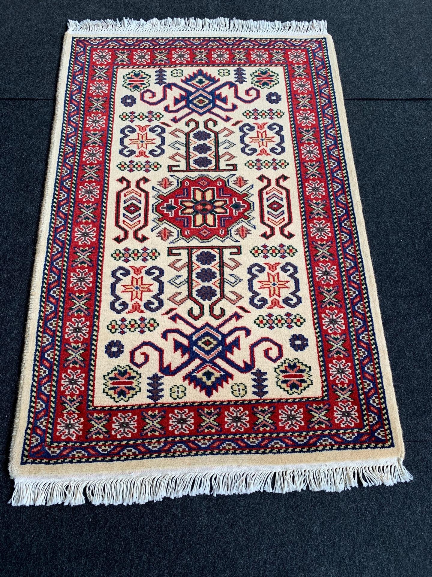 JA8779 パキスタン 手織り 62×95