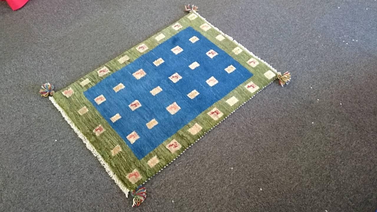 GA6777 ギャベ 78×110 手織り