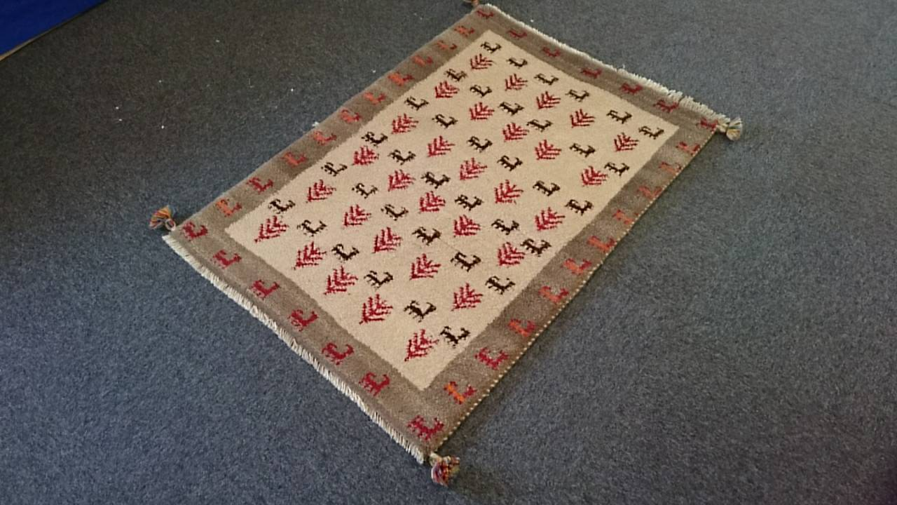 GA7486 ギャベ 85×122 手織り