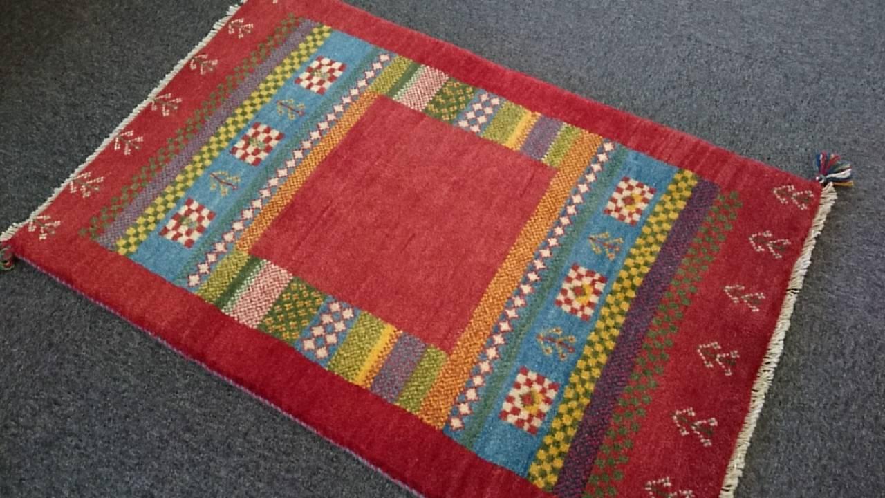 GA7861 ギャベ 79×120 手織り