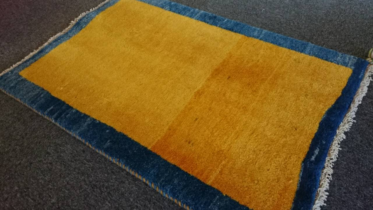 GA6773 ペルシャ絨毯 ギャベ 76×112