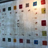 ベルシャ絨毯 ギャッベ60-90